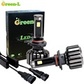 90W 9000LM 9003 HB2 DOULBE COB LED Headlight Replacement Conversion Kit 12V Fog DRL Light Farol