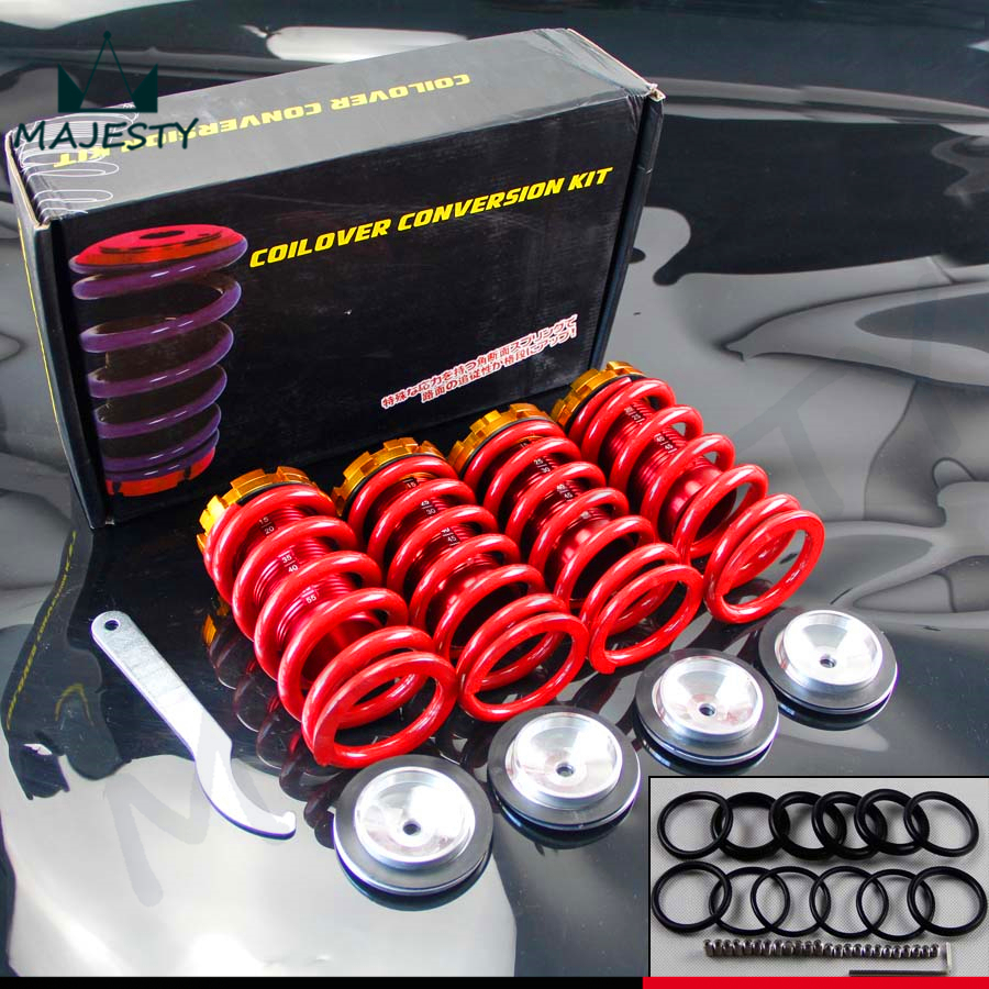 Aluminum Scaled Lowering Suspension Coilover Coil Springs For Civic 88-00(China (Mainland))