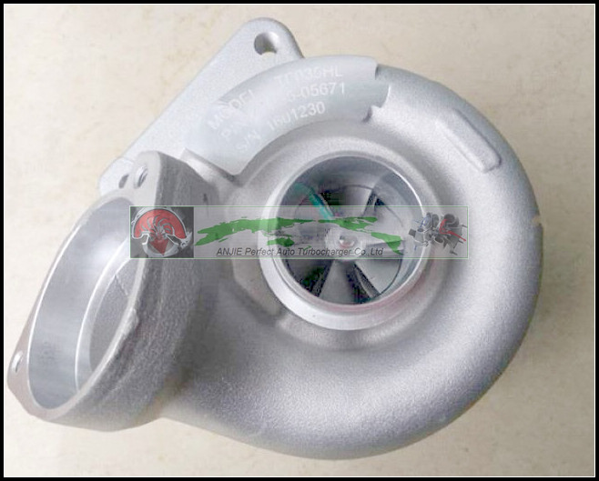 TF035HL 49135-05671 49135-05670 NO Electric Actuator Turbo Turbocharger For BMW 120D E87;320D E90 E91 03-06 M47TU M47TU2D20 2.0L (3)