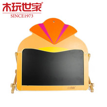High Quality Wooden Duplex Learning Chalkboard and Whiteboard Drawing Writing Two Sides Painting Toy for Child Educational Toy(China (Mainland))