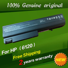 Free shipping Original laptop Battery For Hp Business Notebook NX6110 NX6110/CT NX6115 NX6120 NX6125 nx6130 NX6140 nx6300 NX6310