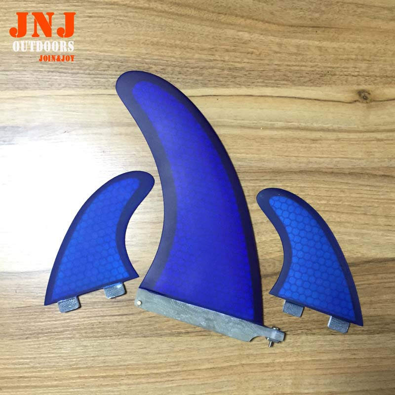 """FREE SHIPPING Wholesales cheapest quality sup stand up paddle board blue fin system 9"""" centre fin and 2 pcs FCS G5(China (Mainland))"""