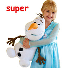 Olaf Plush Doll Toy 23cm 30cm 50cm Classic Olaf Movie and TV Dolls Soft Stuffed Animals Snowman Olaf Toys Kids Birthday Gift(China (Mainland))