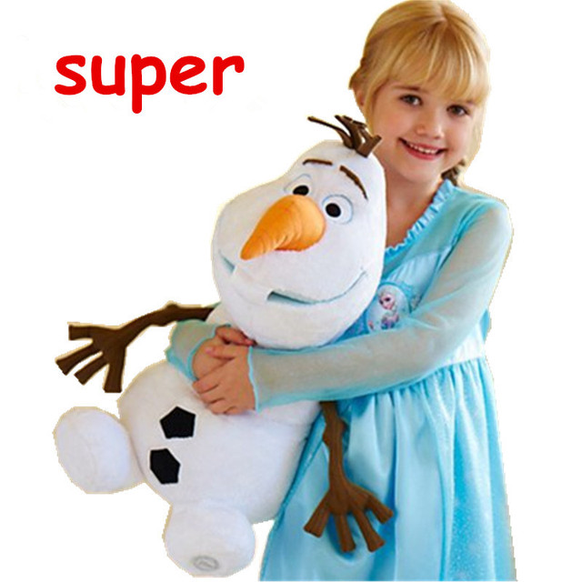 Kawaii Olaf Plush Toys 23cm 30cm 50cm Olaf Cartoon Anime Plush Toys Snowman Olaf Soft Plush Doll Children Gift