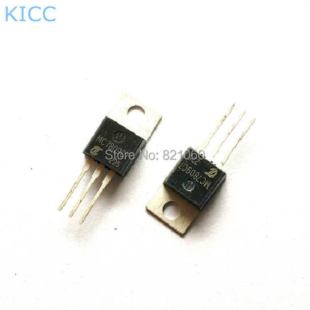 7809 TO-220 9 В / 1A схема