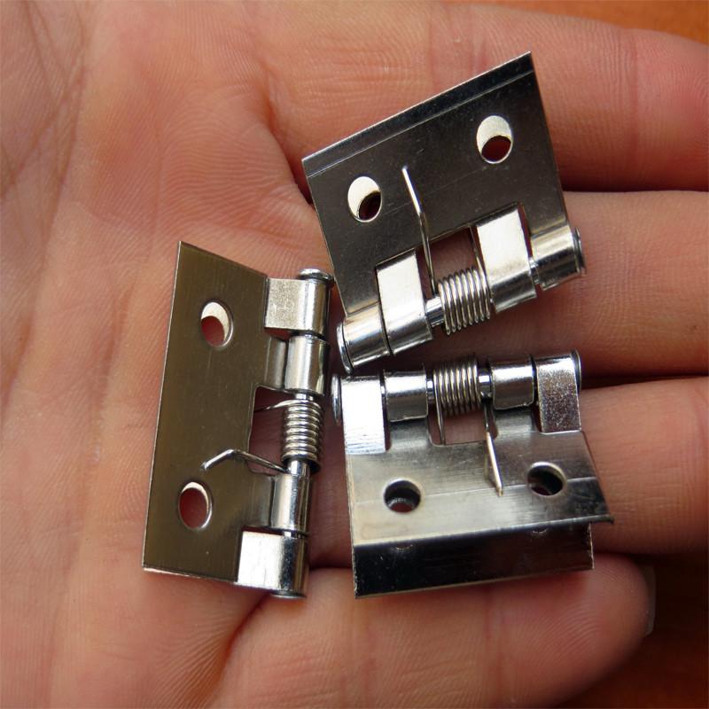 26*31MM Spring hinge Small Gift Wooden box hinge Decorative Hinge Small hinge furniture Wholesale(China (Mainland))