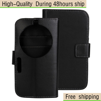 Magnetic Wallet Flip Leather Case Cover For Samsung Galaxy K ZOOM C1158 Free Shipping