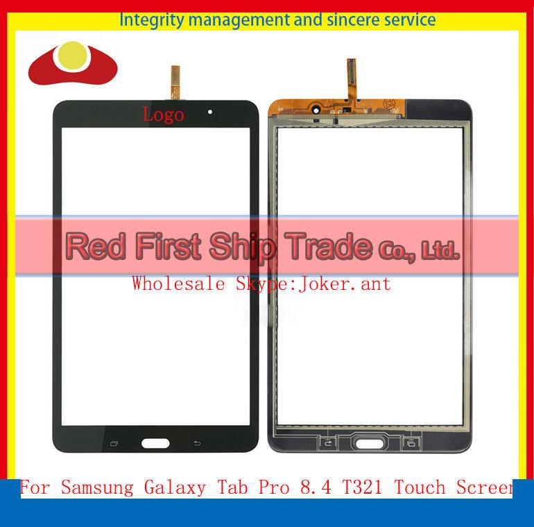 Здесь можно купить  5pcs/lot Original For Samsung Galaxy Tab Pro 8.4 T321 Digitizer Touch Screen Panel  with 3M Sticker White or Black  Компьютер & сеть