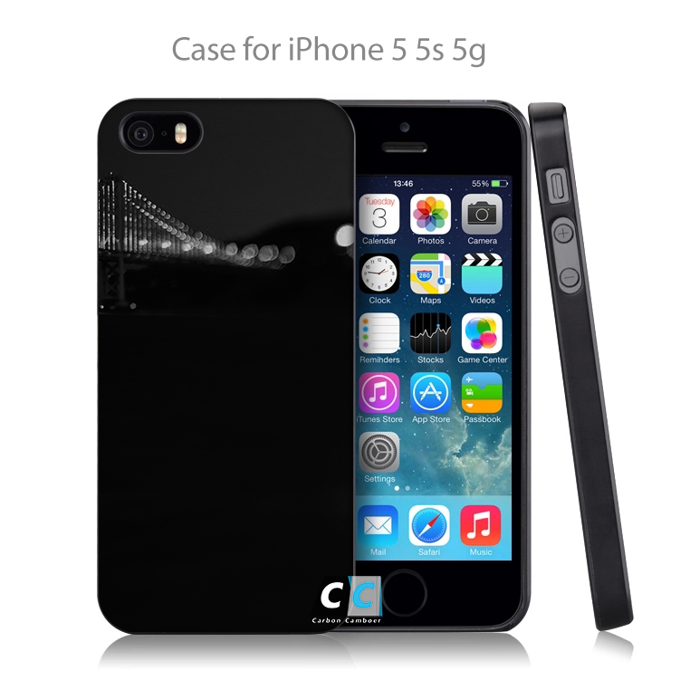 mi92 california san francisco bridge bw lake Hard Black Case Cover Shell Coque for iPhone 4 4s 4g 5 5s 5g 5c 6 6g 6 Plus(China (Mainland))