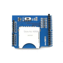 10pcs/lot SD Card Shield TF SD Expansion Board Reader Stackable for Arduino UNO(China (Mainland))