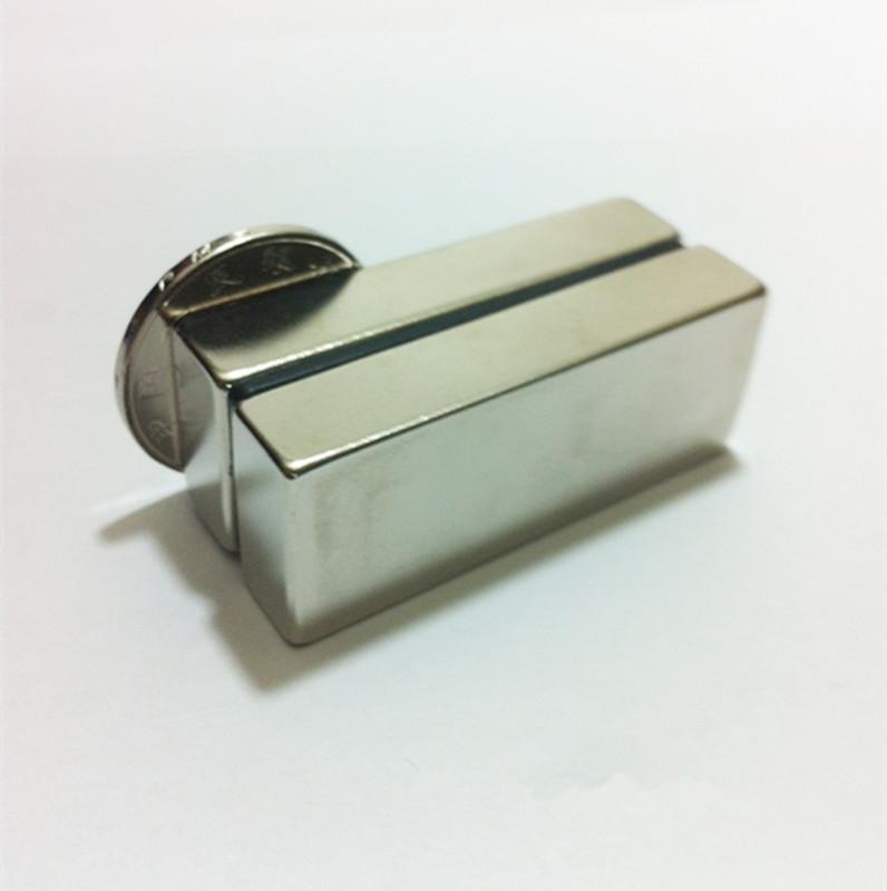 Гаджет  Imanes Neodymium magnet N52 1PC Big Super Strong Block Magnets 50*20*10(mm) Rare Earth Neodymium AE011 None Строительство и Недвижимость