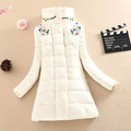 2016 new fanshion diamond cotton padded women clothing parka overcoat casual winter coat Plus size Outwear