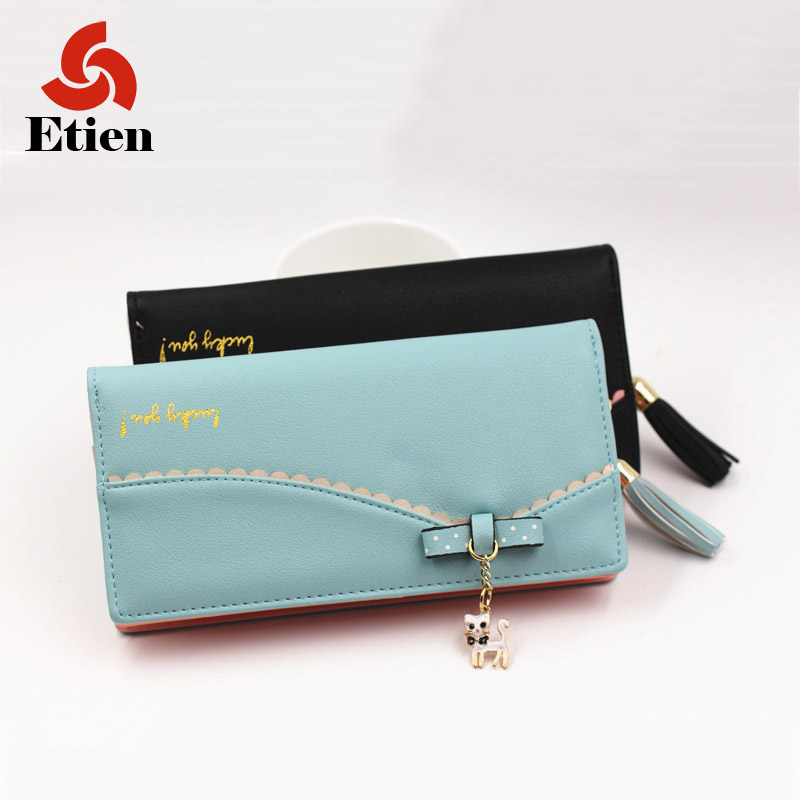 Fashion brand Zipper Cute Wallets Women Small Red Purse Ladies Fashion Billeteras mujer Cartera Portefeuille Femme Coin Pocket(China (Mainland))