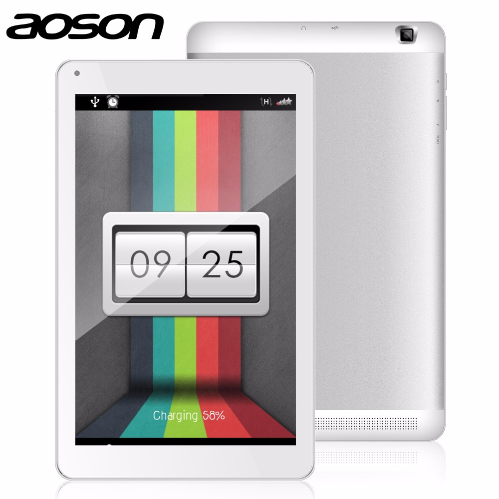 high resolution 10.1 inch Quad Core Tablet PC AOSON M106NB Android 4.4 1GB RAM 8GB ROM Bluetooth IPS Wifi Tablets dual cameras(China (Mainland))