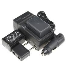 3Pcs VW VBK180 VW VBK180 VWVBK180 Rechargeable Camera Battery Car Charger Charger For Panasonic HDC SD80