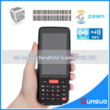 Buy New 4.0 Inch Wireless Android barcode scanner PDA data terminal pos handheld data collector bluetooth,4G, Wifi,GPS for $236.00 in AliExpress store