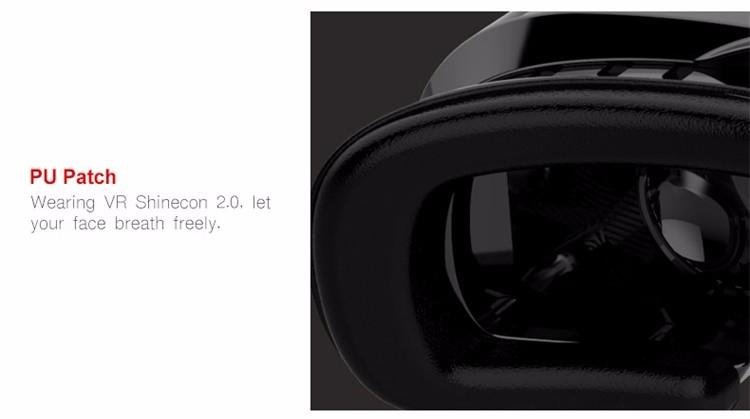 ถูก Shinecon VR P Roรุ่นความจริงเสมือนแว่นตา3DชุดหูฟังหัวเมาGoogleกระดาษแข็งภาพยนตร์เกมสำหรับ4.7-6นิ้วโทรศัพท์+ระยะไกล