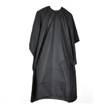 Large Salon Adult Waterproof Hair Cutting Hairdressing Cloth Barbers Hairdresser Cape Gown Wrap Black(China (Mainland))