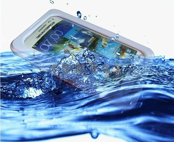 200pcs/lot Water Proof Shock Proof Cell Phone Case Cover for Samsung Galaxy Note 2 N7100, fedex free ship(China (Mainland))