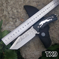Brand Knife blade stereoscopic printing fashion graphics outdoor Camping Knife 440c knife hand tools survival straight
