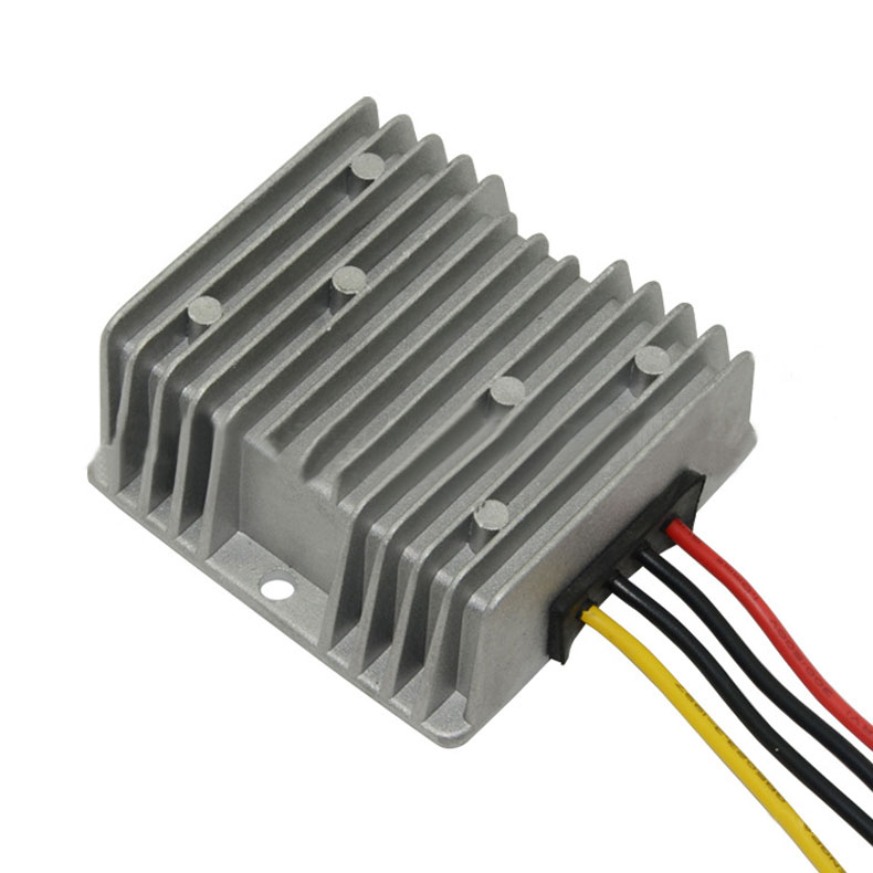 120W Voltage Reducer Converter Regulator DC/DC 48V To 12V 10A For Golf Cart E2shopping(China (Mainland))
