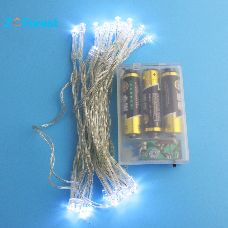 3m Battery Operated Fairy Lights 2 Colors Christmas Lights
