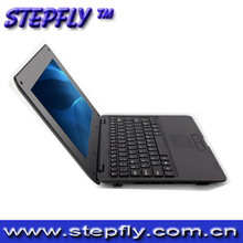 Stepfly free shipping 10 inch dual core  VIA 8880  RAM 1G ROMB 8G with  sd 32GB  Android wifi DHMI mini laptop(Y10D)(China (Mainland))