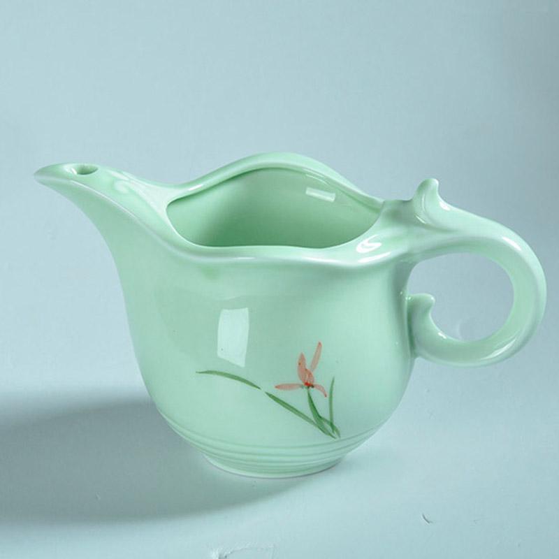 Bonsai Pot For Indoor Plants Flowers Ceramic Flowerpot Retro Ancient Porcelain Crafts Vases For Graden Plants(China (Mainland))