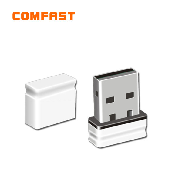 100pcs/lot  Mini wifi adapter free shipping Comfast usb wireless adapter wifi card CF-WU810N RTL8188EUS chipset(China (Mainland))