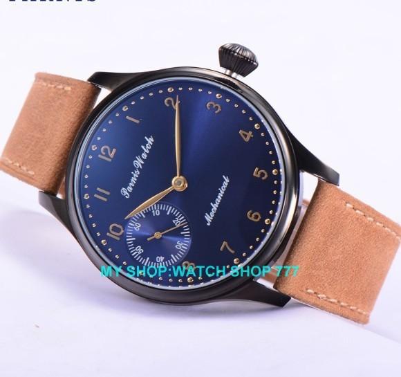 44 мм PARNIS ST3600/6497 Механическая Рука Ветер мужские часы Механические часы PVD корпус часов 2016 новая мода 361CA