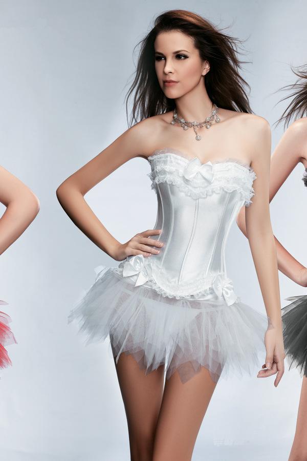 Очень короткое свадебное платье