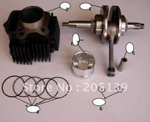 motocross dirt bikes parts engine Cylinder body for LI FAN 125CC