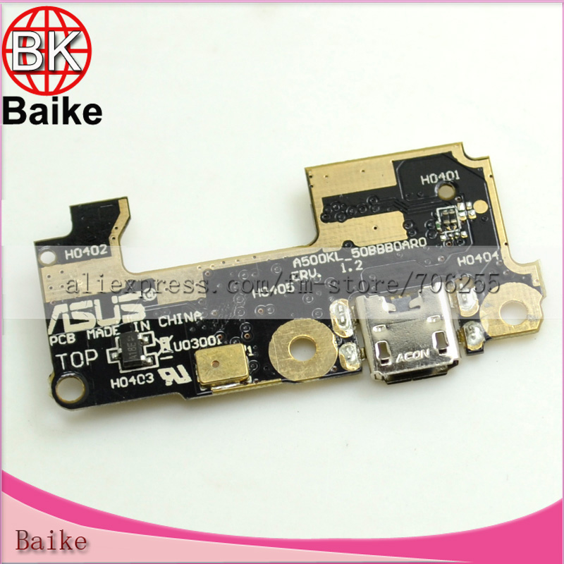Original Dock Connector Charger Charging Port Flex Cable with Mic For ASUS Zenfone 5 LITE A502CG c/c Free shipping