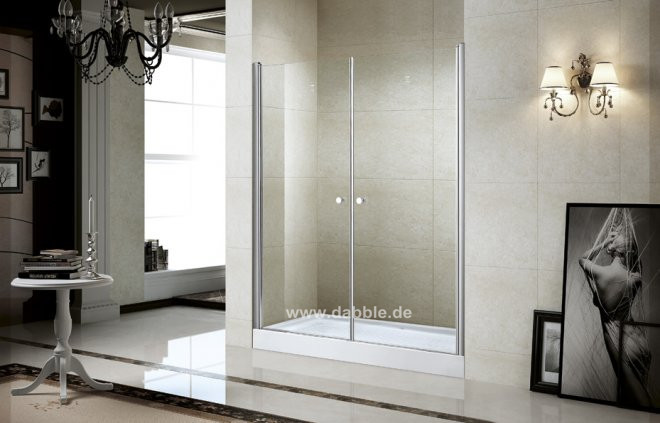 800x1950mm Frameless Pivot Shower Door Pivot Shower Enclosure Walk In Cubicle Glass Door Screen DY-P2156B(China (Mainland))