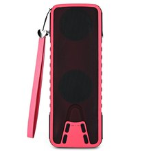 New Arrival A-2064BT Outdoor Water-resistance Bluetooth Speaker Multifunctional Power Bank Flashlight Music Player(China (Mainland))