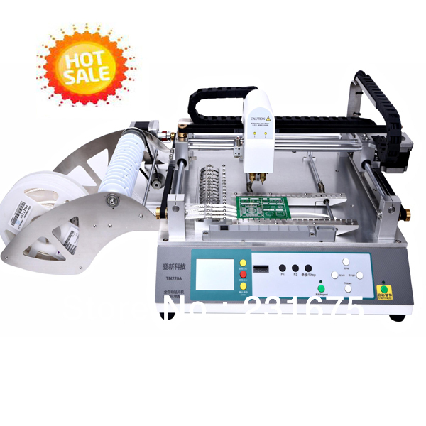 Pick and place machine TM220A -Group Buying Price,Led, Automatic ,Desktop,5050,Chip,SMT,0402,Pcb,Component,The Manufacturer(China (Mainland))