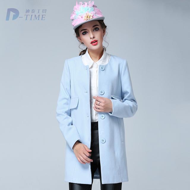 В продаже 2015 Большой размер женщины зима голубой пальто 5XL большой размер элегантных ...