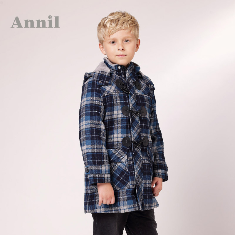 Annil boys clothing woolen overcoat ab345451 winter<br><br>Aliexpress