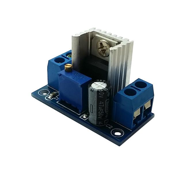 LM317 adjustable DC regulated power supply module, DC DC converter plate adjustable linear regulators(China (Mainland))