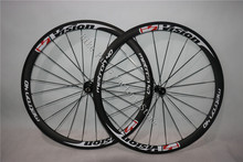 Chinese 38mm depth 700c rims clincher Powerway R36 Hub UD Matte Finish bicycle road carbon wheels - Bike Parts Factory Store store