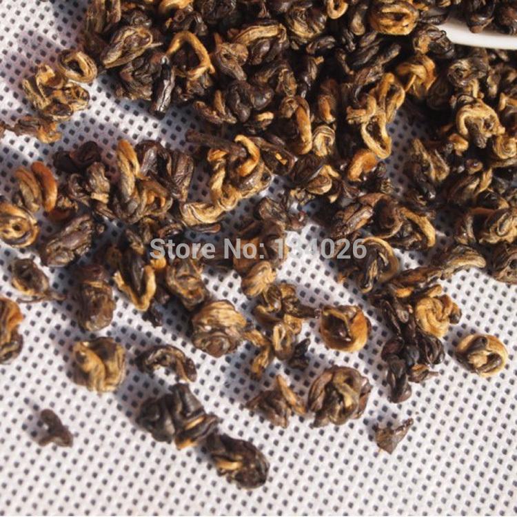 A bud leaf tea Fruit sweet alcohol free shipping Yunnan DianGong tea Super red screw A bud leaf tea(China (Mainland))