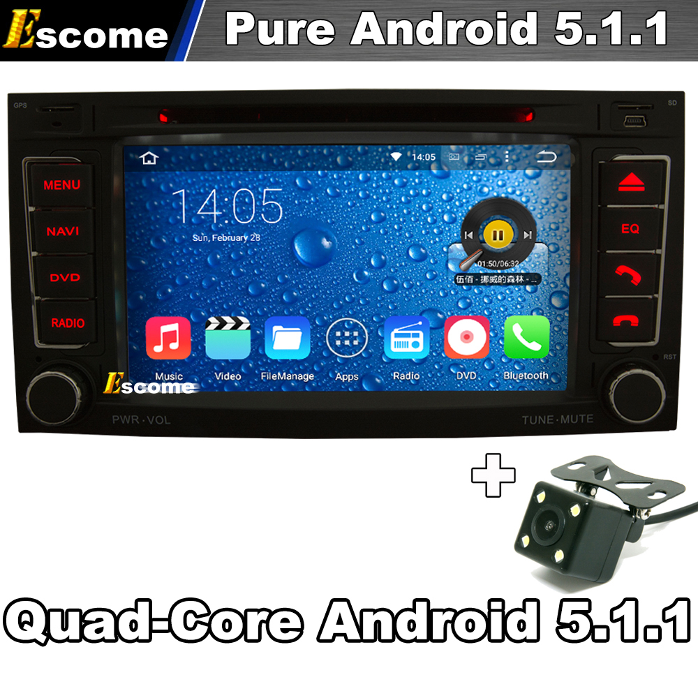 Pure Android 5.1 Car DVD for Volkswagen VW Touareg T5 Transporter Multivan Capacitive Radio 3G wifi GPS Navi Rear View Camera(China (Mainland))