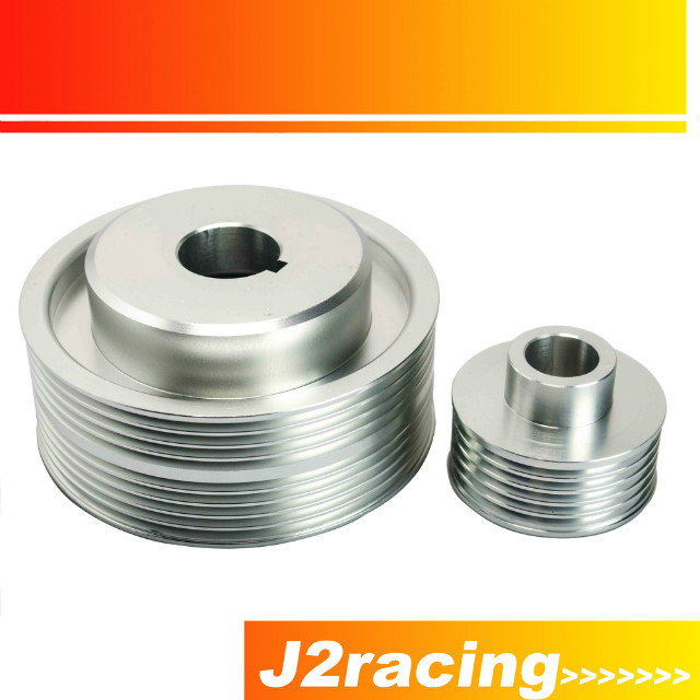 J2 Racing Store LIGHT WEIGHT CRANK PULLEY For Subaru IMPREZA WRX V 7 8 9 GDB
