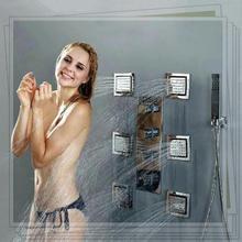 Luxury Classic Solid Brass Waterfall Rain Shower faucet inwall rain shower single faucet(China (Mainland))