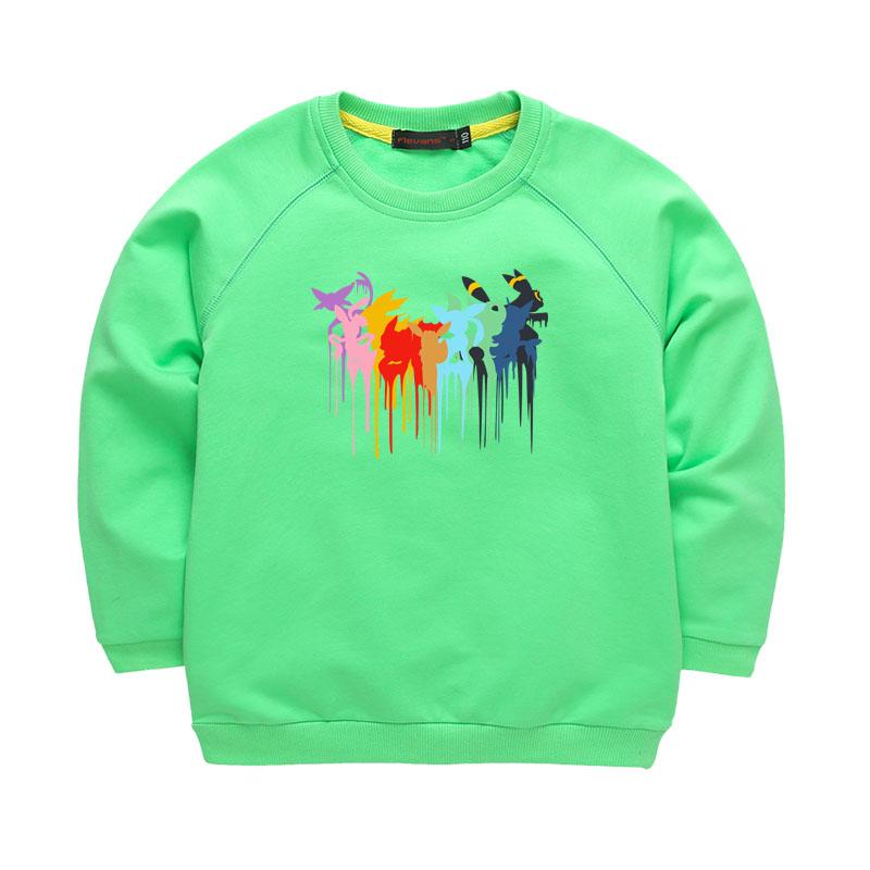 Spring Autumn Brand Children Hoodies Boys Girls Sweatshirts Kids Long Sleeve font b Pokemon b font