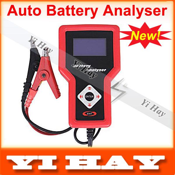 New Automotive Battery Analyzer using conductance method, 12V Car digital battery tester checker VAT-560, free shipping(China (Mainland))