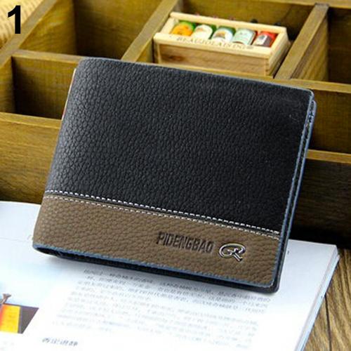 Mens Stylish Leather Wallet Card Clutch Cente Bifold Purse Pocket<br><br>Aliexpress