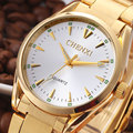 2016 Chenxi Luxury Brand Full Stainless Steel Watch Men Gold Golden Fashion Men s Watches Waterproof