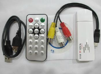 USB 2.0 TV Box Worldwide Digital Analog TV signal receiver Analog TV Stick Tuner Receiver Adapter
