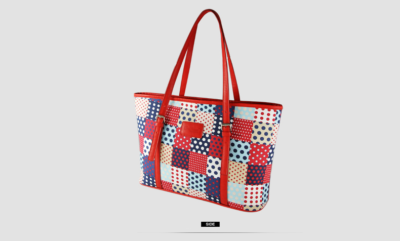 Designer Floral Canvas Composite Bag Ladies Printing Casual Tote Bag Fashion Blue Red Crossbody Bag Clutch Bag Three Piece Suit